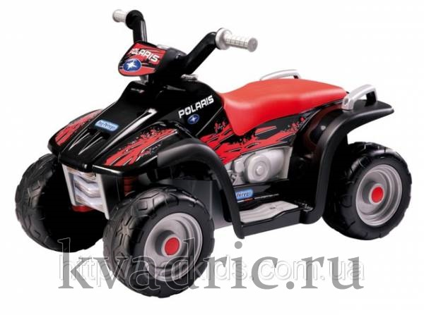 Квадроцикл Peg-Perego Polaris Sportsman 400 NERO